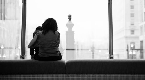 Samodzielna i samotna matka.