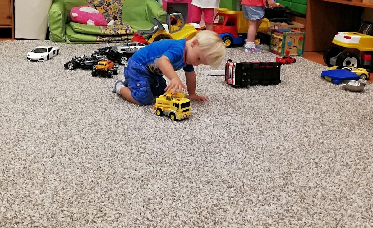 Ataki złości u małych dzieci.