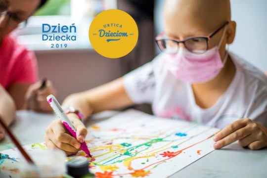Dzień Dziecka z chorobą nowotworową.