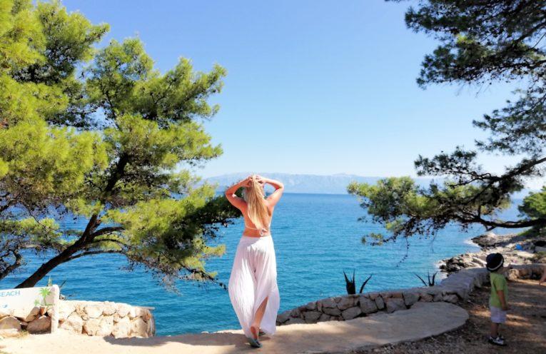 Wyspa Hvar Chorwacja podróż z małymi dziećmi.